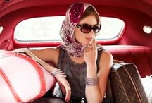 Head-turning Headscarfs  / With inspiration from the Goodwood Festival of Speed, we have collated our favourite headscarf looks