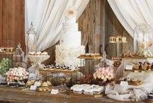 Dessert Bars / Creative Dessert Bars for weddings, events and birthday parties.