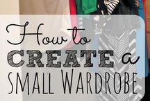 Build a Wardobe / Tips of building a wardrobe