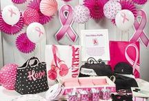 Pink Ribbon Ideas / Promote the power of pink with Breast Cancer Awareness apparel and pink ribbon merchandise that lets you express yourself, plus ideas and inspiration for your breast cancer walks and fundraising events.