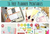 Planner Stickers / Free printable planner stickers and journal cards