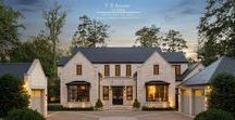 E x t e r i o r s (by TSA studio) / Exterior photography of homes designed by TS Adams Studio Architects.