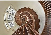 S t a i r s (by TSA studio) / Various stair designs by TS Adams Studio Architects.