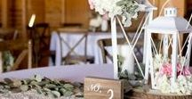 DIY Wedding Centerpieces | Tablescapes / Our favorite collection of Wedding Centerpieces that you can buy online, or DIY for your special day! Inspiration and color combinations to fit any style. Get creative, the sky's the limit!