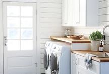 Laundry and Mud Rooms / Mudroom and Laundry room ideas for any interior decorating style. Shop home decor and stylish organization at Hudson and Vine. From Farmhouse to Modern, French Country to Bohemian, we've got you covered. Free shipping over $100.