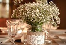 Baby's Breath Inspired Theme / Soft and feminine, perfect for weddings all year round.