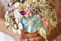 Brooch Bouquets / For all the magpies!