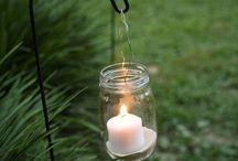 Mason Jars / Creative ways to use mason jars in your wedding