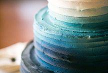 Ombré Wedding Cakes