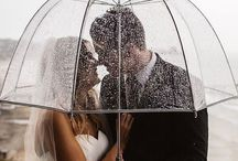 Rain on your wedding day- Photo opp's! / Don't panic if it rains on your wedding day. These photos will make you see why!