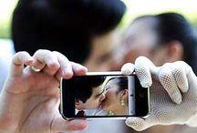 Fun Wedding Selfies