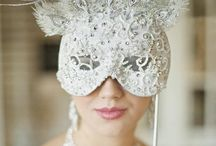 Masquerade Wedding / The perfect theme if your having a Halloween or New Years wedding.