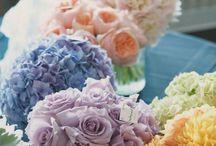 Pastel rainbow wedding theme / Soft, subtle and so sweet!