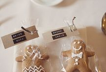 Winter Wedding Favours / Cute wedding favour for your winter wedding