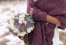Winter Wedding Attire <3 / Cosy cover-ups