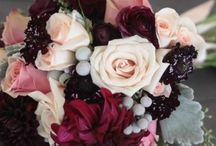 Burgundy Bliss Wedding Theme / Rich and sumptuous burgundy.