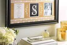 How to display your wedding invitations / Displaying and preserving your wedding stationery after your big day.