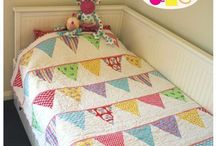 Sewing:-Triangle quilts
