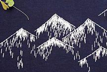 Sewing:- Sashiko