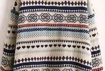 Pullover / Тёплые вещи / Большие и маленькие, мягкие и колючие.