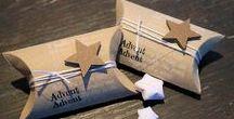 Verpackungen / Ideen zum Verpacken von Geschenken für alle Anlässe.