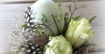 Easter Decoration / All about decorating your home for Easter.