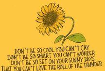 Žlutá a inspirace / My Yellow Soul