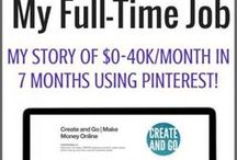 Pinterest Marketing / How to make money with Pinterest stories and tips.