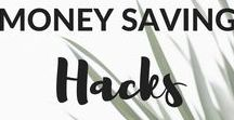 Money Saving Hacks / Tips & tricks to save money in everyday life. Personal finance and making money.