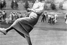 Golfers | Lady Golf Inspiration / Female golfers who have paved the way