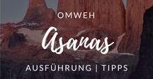 Asanas / Tipps für die Ausführung einzelner Asanas.