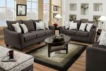 Living Room / Enjoy a mix of modern, classic and traditional living room pieces to complete your living or family room.