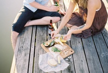 EATING OUT OF DOORS / let's just go on a picnic