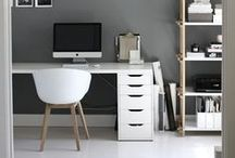 VILLA d'ESTA || WORKING SPACE / Create a lovely working place in your home