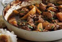 Recipes ~ Stews & casseroles