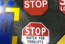 Superior Mark Floor Markers: Corners, T's, X's, Footprints, Arrows, Dots, & Dashes! / Marking floors with floor markers is a great way to organize the space. Floor markers, such as corner markers, use a lot less material than marking solid lines. They are easier to maintain, which is important in industrial facilities with heavy traffic. This board shows some ideas of various ways that our Superior Mark floor markers can be used.