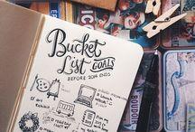 101 things to do in my sabbatical / 101 coisas a fazer em um ano.