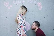 Pregnancy announcement ideas / Making your pregnancy special is very important! Get excited with these announcement ideas to tell your parents, friends, family, grandparents and coworkers! Gender reveal parties are all the rage- find inspiration to making it memorable. Most importantly, lots of fun riddles to telling your husband about new baby!