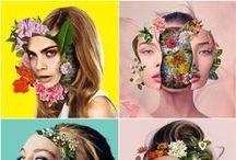 Portrait / Collage / Inpirations
