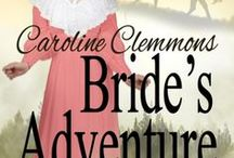 BRIDE'S ADVENTURE / Amelia Douglas returns to her friends in Sweetwater Springs, Montana after an unsatisfactory visit with her brother in Oregon.  My fourth Montana Sky Kindle World novel set in Debra Holland's towns of Morgan's Crossing and Sweetwater Springs, Montana.  Loving a Rancher book four.  Inspirational, Victorian, sweet, western historical series, Montana, millinery shop