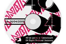 40 Years of Jazz in Katowice 04 Silesian Jazz Festival / How to link these two events, one of which takes place regularly, & the other one is an anniversary? We were also to develop a corporate identity for the jazz festival & a unique graphic design for both events. We based the identity on a graphically rich logo, that is constantly changing & evolving just like jazz. The combination of numbers 40/04, together with an exchange form of various musical instruments, served as the foundation for joining the two events.