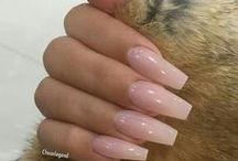 Nails / Olika nagel designer.