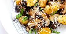 Dinner / Inspiration for a delicious, filling veggie stocked dinner