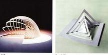 paper structure, cardboard, origami  - papierowe struktury