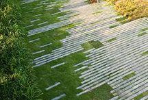 Gartenwege I Hauptstadt Garten / Gestaltung von Wegen aus Kies, Holz, Steinen, Fliesen und Naturmaterialien im Garten