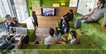 Ideen fürs Büro / Inspiration ist der Start für eine außergewöhnliche Büro-Planung. Diese Pinnwand ist eine Sammlung kreativ gestalteter Bürolandschaften und kann ein erster Schritt hin zum eigenen Wohlfühl-Büro sein, bei dem wir Sie gern unterstützen.