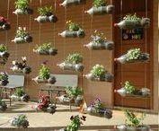 Upcycling Ideen I Hauptstadt Garten / PET-Flaschen, Palletten, Milchkartons, etc. kann man weiternutzen statt sie wegzuwerfen.