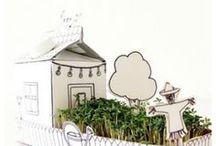 Schulgarten Ideen | Hauptstadt Garten / Inspiaration, Ideeen und DIY zum Thema Garten mit Kindern. Basteln, spielen, pflanzen, gießen, Hochbeet bauen und viele Tipps was man bei schlechtem Wetter machen kann.