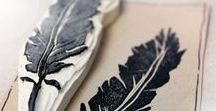 Stempel DIY | Hauptstadt Garten / Stempel basteln und selber schnitizen zum Bedrucken von Stoff, Papier, Jutebeuteln, Karten, etc. Eine schöne Beschäftigung auch mit Kindern oder als Geschenk.