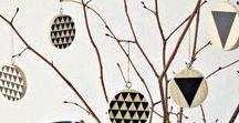 Baumschmuck DIY | Hauptstadt Garten / Inspiration, Ideen und Aleitung, wie man Schmuck für den tannenbaum und Christbaum selber machen und basteln kann.